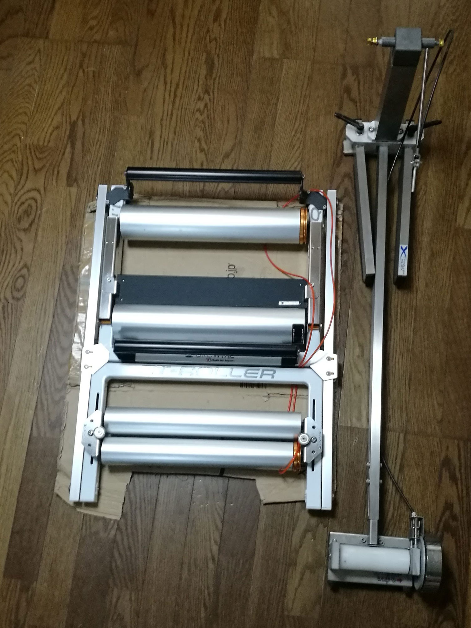 GT-Roller Q1.1とFlex